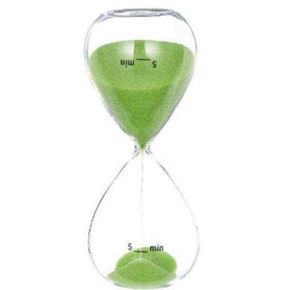 Изображение Часы песочные GIMME FIVE Зеленый 10202812