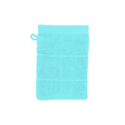 Изображение Рукавичка банная махровая COTTON CLUB Голубой 15х20 см. 10203444