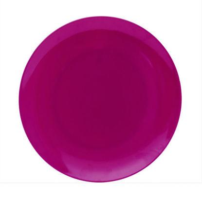 Изображение Тарелка JUNIOR Пурпурный в сочетании O:20 см. 10203582