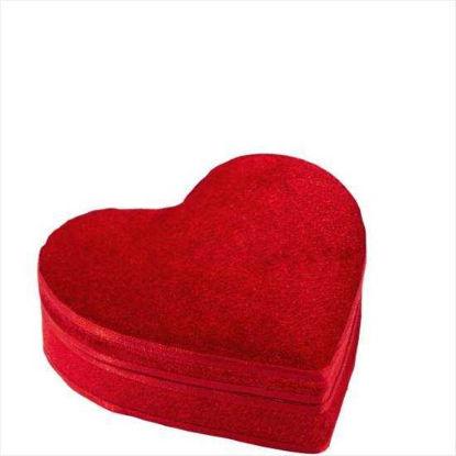 Изображение Коробка для подарка HEART Красный 11.5х9.5х4.5 см. 10203687