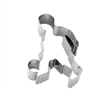 Изображение Форма для печенья BISCUIT Серебряный O:7.7 см. 10203874