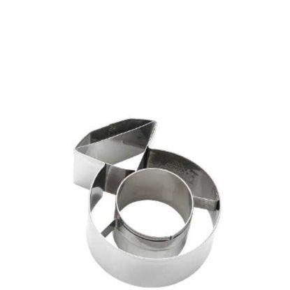 Зображення Форма для печива BISCUIT Срібний O:5.8 см. 10203882