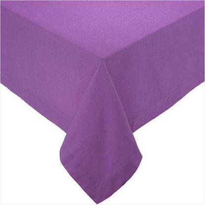 Зображення Скатертина SOLID Фіолетовий в поєднанні 140х140 см. 10203982