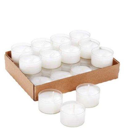 Зображення Свічка в одноразовій підставці TWENTY FOUR Білий 10204090