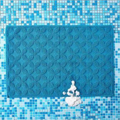 Изображение Коврик банный LAY DOWN SALLY Голубой 60х80 см. 10204345