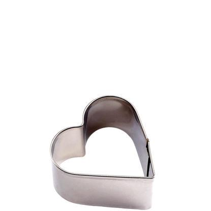 Изображение Форма для печенья HEART Серебряный O:3 см. 10204464
