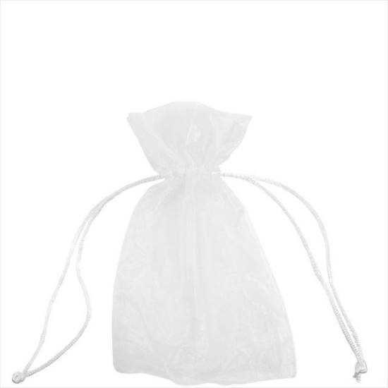 Зображення Мішечок подарунковий VOILE Білий 12х17 см. 10204469