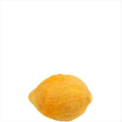 Зображення Лимон декоративний MARKET PLACE Жовтий H:11 см. 10204492