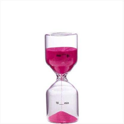 Изображение Часы песочные (на 10 мин) TOP TEN Фуксин 10204782