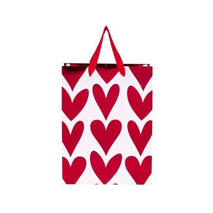 Зображення Пакет подарунковий HEART TO HEART Червоний 17х9.2 см. 10204820