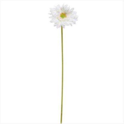 Зображення Гербера штучна FLORISTA Білий H:48 см. 10204868