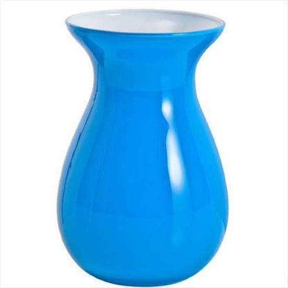 Зображення Ваза для квітів BELLE Блакитний H:18 см. 10204977