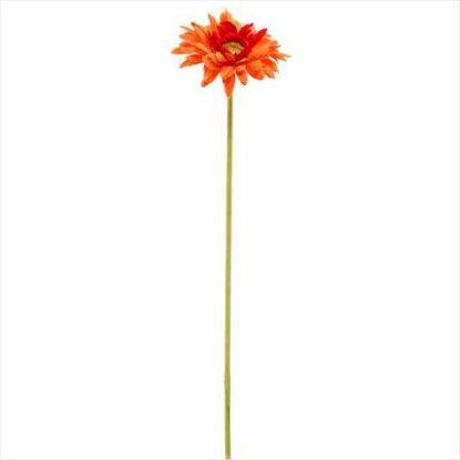 Изображение Гербера искусственная FLORISTA Оранжевый H:48 см. 10204981