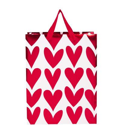 Изображение Пакет подарочный HEART TO HEART Красный 26х13.5 см. 10205111