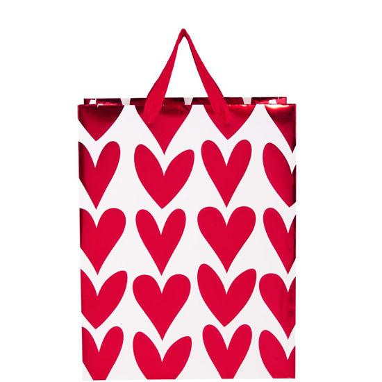 Зображення Пакет подарунковий HEART TO HEART Червоний 26х13.5 см. 10205111