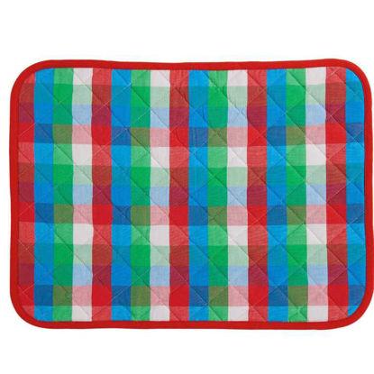 Изображение Подставка под тарелки ARTHUR'S WORLD Зеленый в сочетании 46х33 см. 10205122