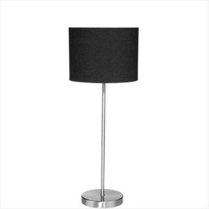 Изображение Лампа настольная STILO Черный H:44 см. 10205304