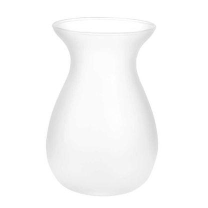 Зображення Ваза для квітів BELLE Білий H:18 см. 10205580