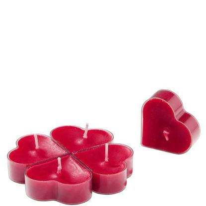 Зображення Свічка HEART Червоний в поєднанні 10205818