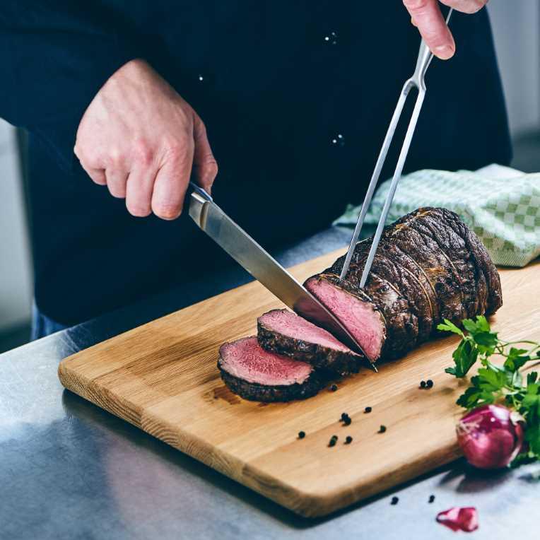 Зображення Виделка для мяса SOUL COOKING Срібний L:29 см. 10205859