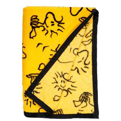 Зображення Пледи PEANUTS Жовтий 130х170 см. 10206601