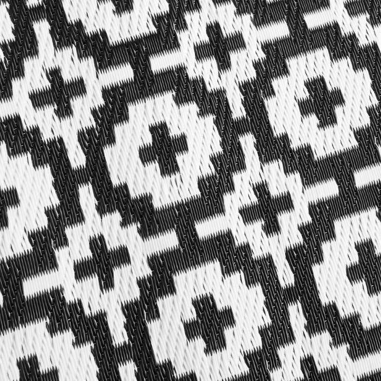 Зображення Килим для підлоги COLOUR CLASH Чорний 180x120 см. L:180 см. 10206897