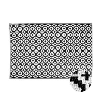 Изображение Ковер для пола COLOUR CLASH Черный 180x120 см. L:180 см. 10206897