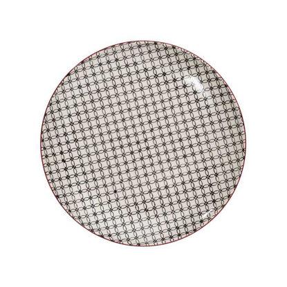 Изображение Тарелка RETRO Серый O:25 см. 10207184