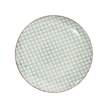 Изображение Тарелка RETRO Зеленый O:25 см. 10207188