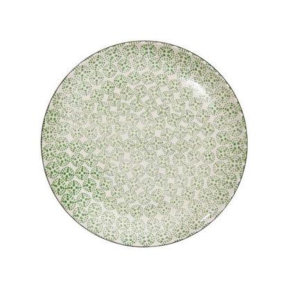 Изображение Тарелка RETRO Зеленый O:25 см. 10207191