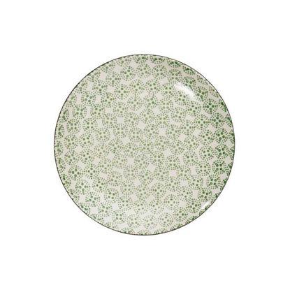 Изображение Тарелка RETRO Зеленый O:20.3 см. 10207198