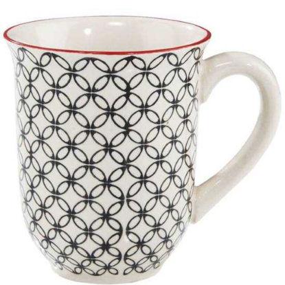 Изображение Чашка RETRO Белый в сочетании V:300 мл. 10207215