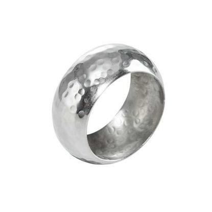 Изображение Кольцо для салфетки LORD Серебряный O:5 см. 10207687