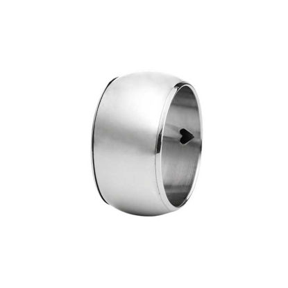 Зображення Кільце для серветки LORD Срібний O:5 см. 10207689