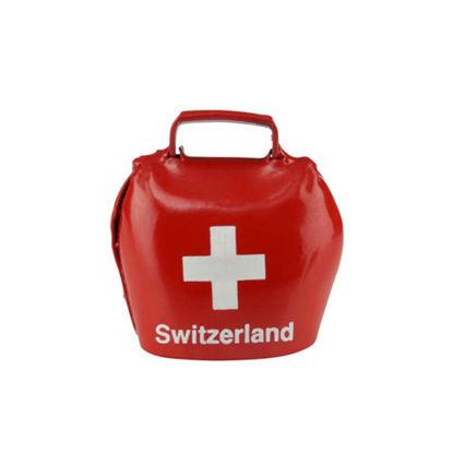 Зображення Дзвоник SWISS BELL Червоний 4х4 см. 10207846