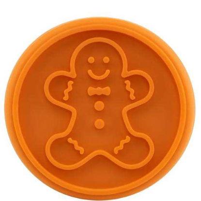 Изображение Форма для печенья BISCUIT Оранжевый 7х8.5 см. 10207952