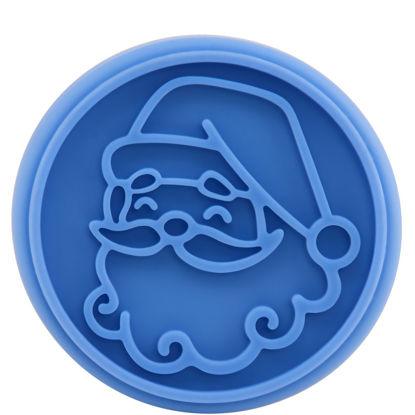 Изображение Форма для печенья BISCUIT Синий в сочетании 7х8.5 см. 10207953