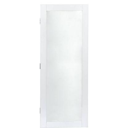 Зображення Міні-Шафа для прикрас з джеркалом AUDREY Білий 32х10х54 см. 10208082