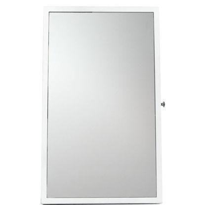 Изображение Мини-шкаф для украшения с зеркалом AUDREY Белый 32х10х54 см. 10208083