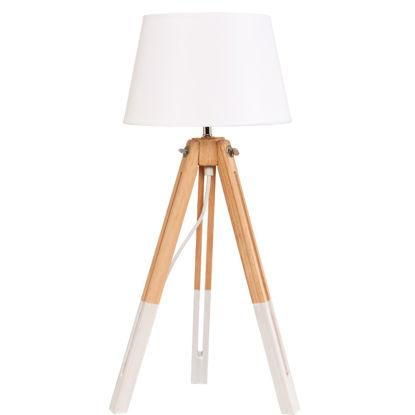 Изображение Лампа настольная SPATS Белый 24х56 см. 10208120
