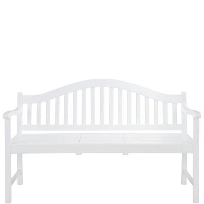 Зображення Лавка з навісним столиком BANQUETTE Білий 140х60х90 см. 10208237