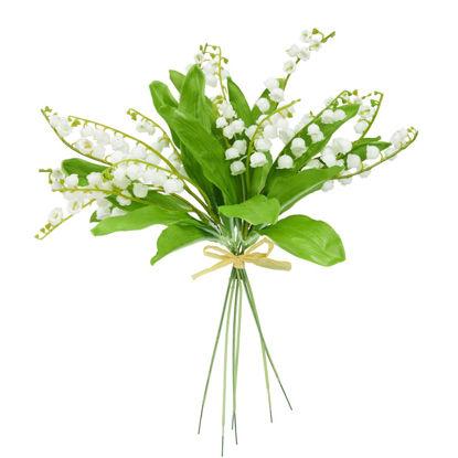 Зображення Квітка штучна FLORISTA Білий H:35 см. 10208637