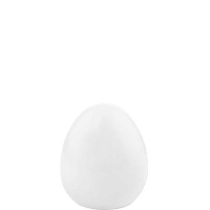 Зображення Яйце декоративне EASTER Білий H:7 см. 10208802