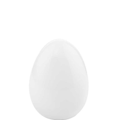 Зображення Яйце декоративне EASTER Білий H:10 см. 10208805