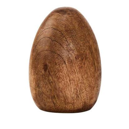 Зображення Яйце пасхальне декоративне EASTER Бежевий H:10 см. 10208990