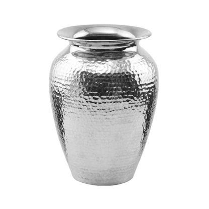 Зображення Ваза для квітів ORIENTAL LOUNGE Срібний H:21 см. 10209004