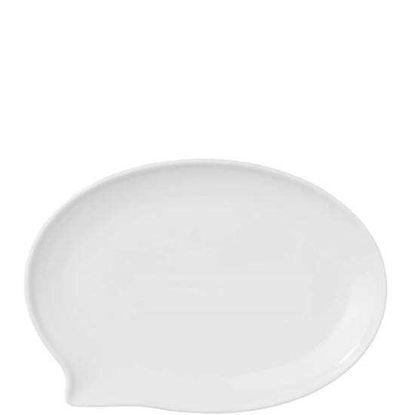 Зображення Тарілка TABLE TALK Білий 22х15 см. 10209026
