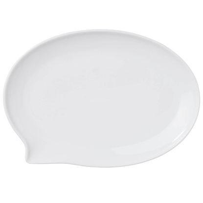 Изображение Тарелка TABLE TALK Белый 27х19 см. 10209027