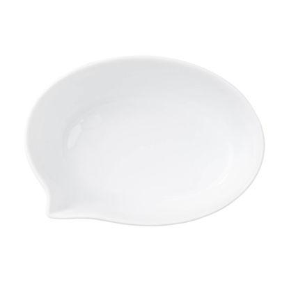 Изображение Тарелка TABLE TALK Белый 14х10 см. 10209028