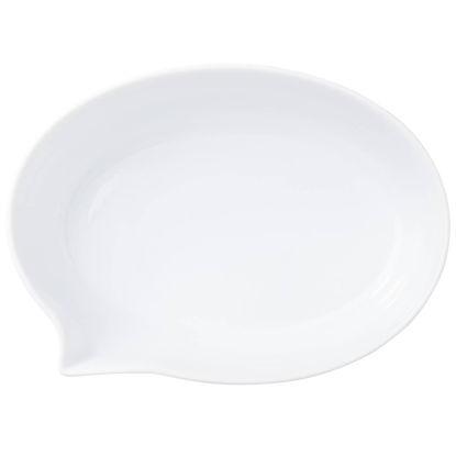 Изображение Тарелка TABLE TALK Белый 20х15 см. 10209029